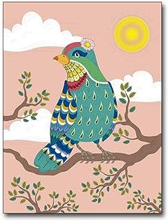 FXBSZ Cartel de pintura de arte de pared de animales de dibujos animados minimalista moderno y decoración de dormitorio de dormitorio infantil pintura de pared sin marco 30X40 cm Sin marco