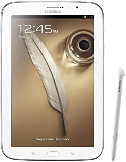 "Samsung Galaxy Note 8.0"" 16GB WiFi + GSM GT-N5100 Factory Unlocked (White) - International Stock No Warranty"