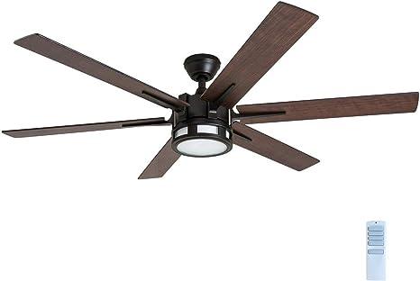 Amazon Com Honeywell 51036 Kaliza Modern Ceiling Fan With Remote Control 56 Espresso Home Improvement