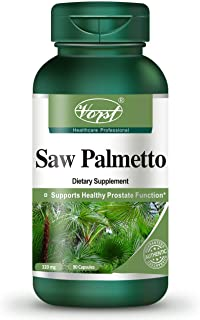 Vorst Saw Palmetto Extract 320mg 90 Capsules Supplement for Prostate Health Incontinence Support Pills DHT ...