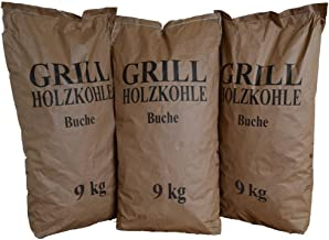 27 kg Barbacoa Carbón Vegetal Carbón vegetal (haya