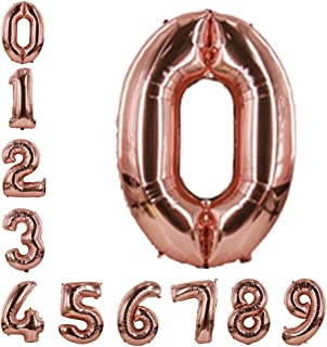 Best metallic number balloons Reviews