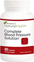 Blood Pressure Supplement Pills for Blood Pressure Support || Maintain Healthy BP Levels with Newport Natural Health Complete Blood Pressure Solution - 60 Capsules (30 Day Supply)