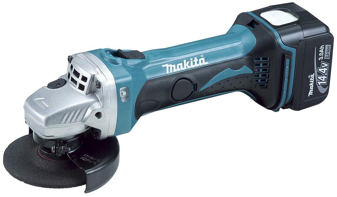 第最大限エレガントマキタ(Makita)  充電式ディスクグラインダ 14.4V 3.0Ah 100mm 本体付属バッテリー1個搭載モデル GA400DRF