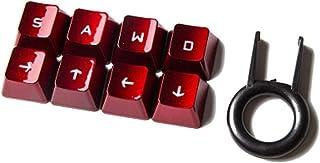 لوحة مفاتيح كمبيوتر وماوس 1 مجموعة سهمًا واسعًا أغطية مفاتيح خلفية ل g910 g810 g310 لوحة مفاتيح مفاتيح يدوية b3k y5lb (الل...