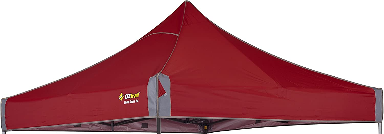 OZtrail Fiesta Deluxe Canopy 2.4 Red Replacement canopy only