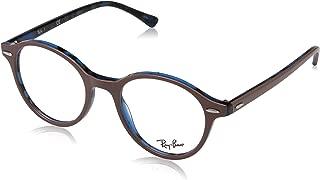 Ray-Ban RX6346 Eyeglasses Gunmetal/Matte Light Blue 52mm