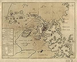 Imagekind Wall Art Print Entitled Vintage Boston Revolutionary War Map (1775) by Alleycatshirts @Zazzle | 20 x 16