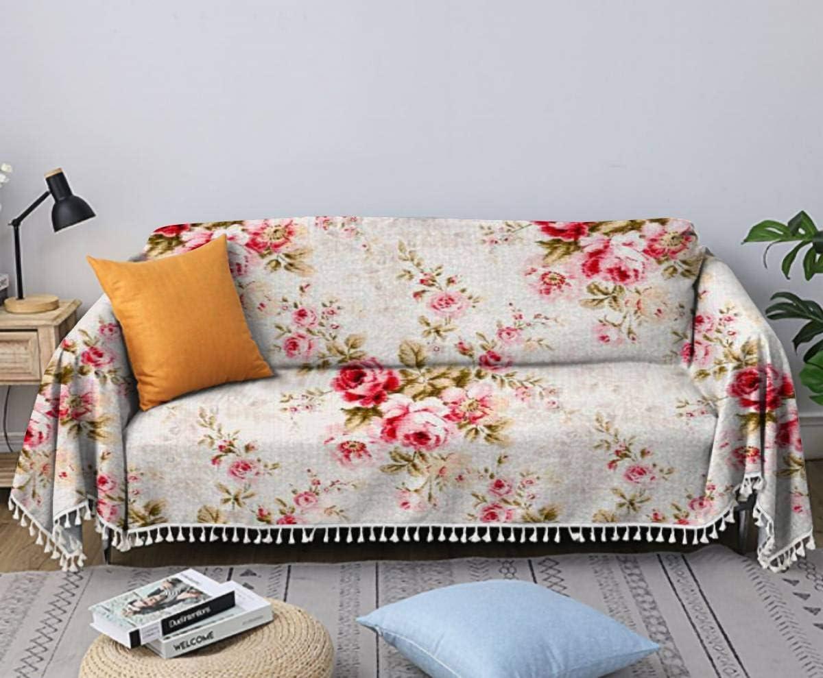 Cottonwood Close Up Antique Floral Rapid rise Cover Fabric [Alternative dealer] Sofa Chair Towel