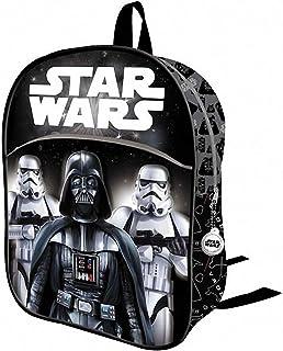 Mochila Infantil 3D Star Wars Darth Vader Y STORMTROPERS 32 CM