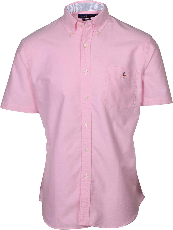 Polo RL Men's Slim Fit Short Sleeve Pocket Shirt