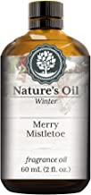 Merry Mistletoe Fragrance Oil (60ml) For Diffusers, Soap Making, Candles, Lotion, Home Scents, Linen Spray, Bath Bombs, Slime