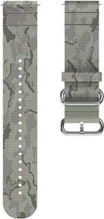 Polar Unisex - Volwassen Wrist Band 22 mm horlogebandje, Tundra groen, M/L