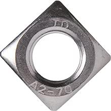 Vierkantmuttern V2A - DIN 557 - M10 - Standard Ausf/ührung SC-Normteile/® - Einlegemutter SC557 Edelstahl A2 40 St/ück