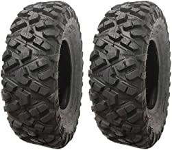MMG Set of 2 ATV Tires 25x8-12 (P332) for Full Size ATVs ARCTIC CAT 450cc, BOMBARDIER/CAN-AM Outlander, Quest, Renegade, Traxter 330/400/500/650