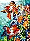 SEG de Paris Kit de Tapicería/Aguja - Tanque de Pescado Tropical (Fond Marin)