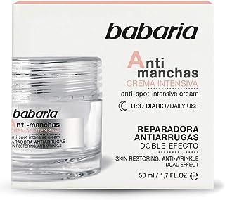 Babaria Crema Intensiva Antimanchas Noche Dobre Efecto Reparadora y Antiarrugas 50 ml