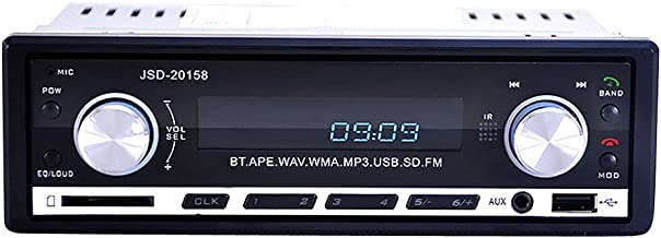 JSD-20158 Bluetooth Audio Estéreo En El Tablero FM Radio MP3 para Coche 24V Universal