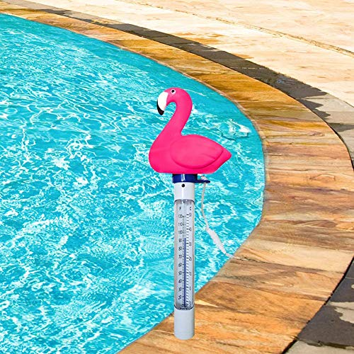 Rich-home Pool Thermometer, Schwimmende Wasser Temperatur mit Saite, Schwimmbad Bruchfest Thermometer für Outdoor & Indoor Pools, Spas, Hot Tubs Aquarien & Fischteiche