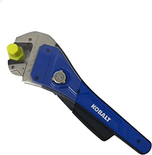 Kobalt Ratcheting Rapid Adjust 1-Piece 8-in Steel and Plastic Adjustable Wrench