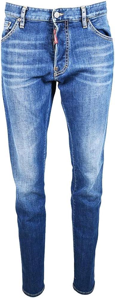 dsquared2 jeans cool guy per uomo 99% cotone 1% elastan s71lb0641-s30663 470a
