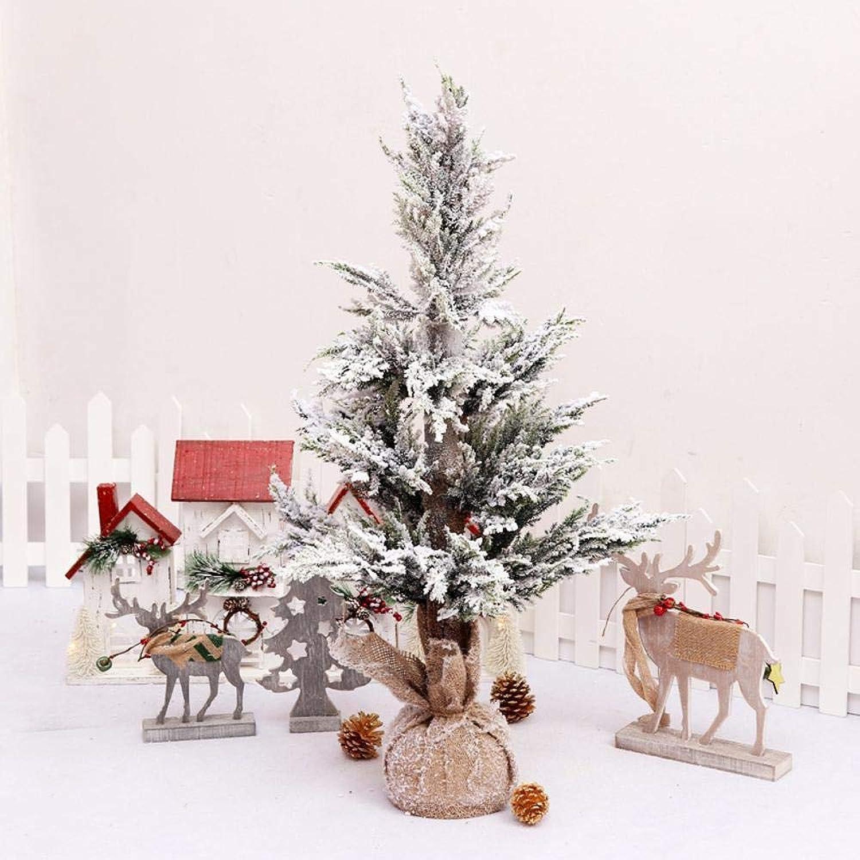 gran venta QJXSAN Navidad 1.5mPE simulación de Cedro 60cm 0.9m 1.2m Nieve Nieve Nieve más Nieve caída de la Nieve reuniéndose árbol de Navidad  venta con alto descuento
