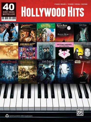 40 Sheet Music Bestsellers -- Hollywood Hits: Piano Solos & Piano/Vocal/Guitar