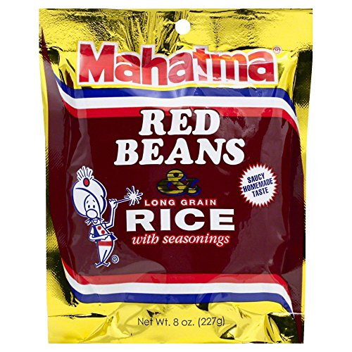 Mahatma Rice Mix Red Bean and Rice, 8 Ounces (Pack of 3)
