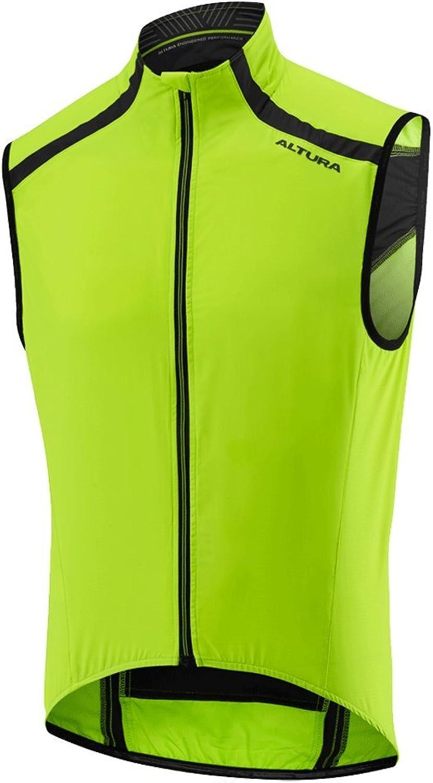 Altura HiViz YellowBlack 2017 NV 2 Sleeveless Cycling Jersey