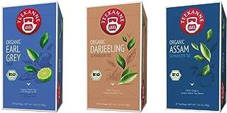 Teekanne Bio Schwarzer Tee - Assam, Earl Grey, Darjeeling 3 x 20 Teebeutel, 105 g