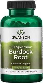 Sponsored Ad - Swanson Burdock Root 460 Milligrams 100 Capsules