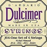 2014 D'Addario D'Addario J64 Dulcimer Strings .012 - .022 N/A