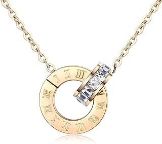 Best tiffany interlocking circles necklace gold Reviews
