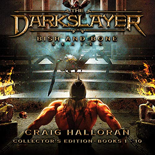 The Darkslayer: Bish and Bone Series Collector's Edition, Books 1 to 10 audiobook cover art