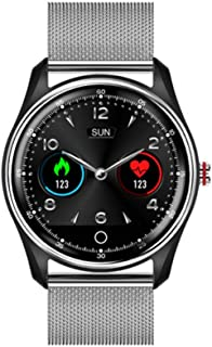 QEAC Smart Watch ECG EKG PPG Smart Watch with Electrocardiograph ECG Display,Holter ECG Heart Rate Monitor Blood Pressure Smartwatch