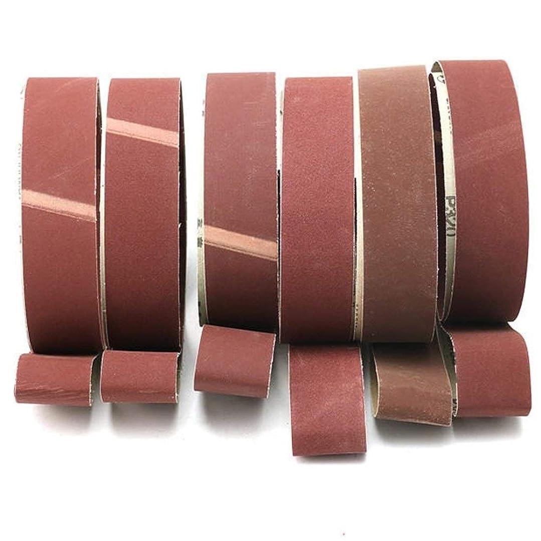 医療の更新甘くするCHUNSHENN サンダー研削研削、研磨のために6PCS 5x182cmサンディングベルト180から800本のグリット研磨サンディングベルト 研磨用 研磨工具