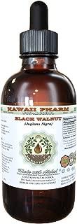 Black Walnut Alcohol-FREE Liquid Extract, Organic Black Walnut (Juglans Nigra) Dried Hull Glycerite 2 oz