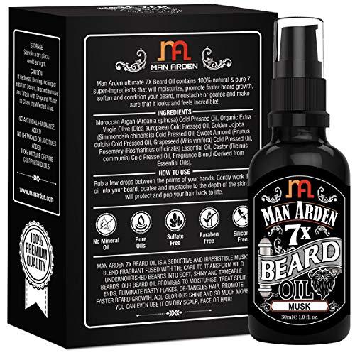 Man Arden 7X Beard Growth Oil