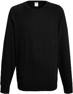 Unisex Plain Sweatshirt Jumper Jersey Super Sweater Pullover Work Long Sleeve Round Neck T-Shirt UK S-XL