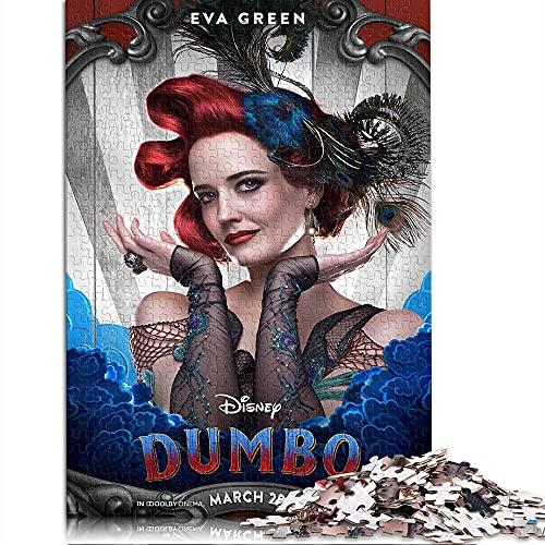 CHDBB Rompecabezas de 1000 Piezas para niños Adultos Camelot Marchand Rompecabezas Educativo Dumbo Temas únicos Juegos de Rompecabezas El Mejor Juego de Rompecabezas 38x26cm