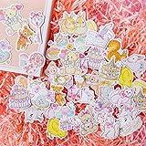 BLOUR 1 Set/Lote Pegatinas de papelería Kawaii Retro Lindo planificador Diario Adhesivo Decorativo para móvil álbum de Recortes DIY Pegatinas artesanales