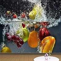 Djskhf 大壁画カスタム3D写真壁紙フルーツスプレー現代の壁紙レストランリビングルーム家の装飾 400X280Cm