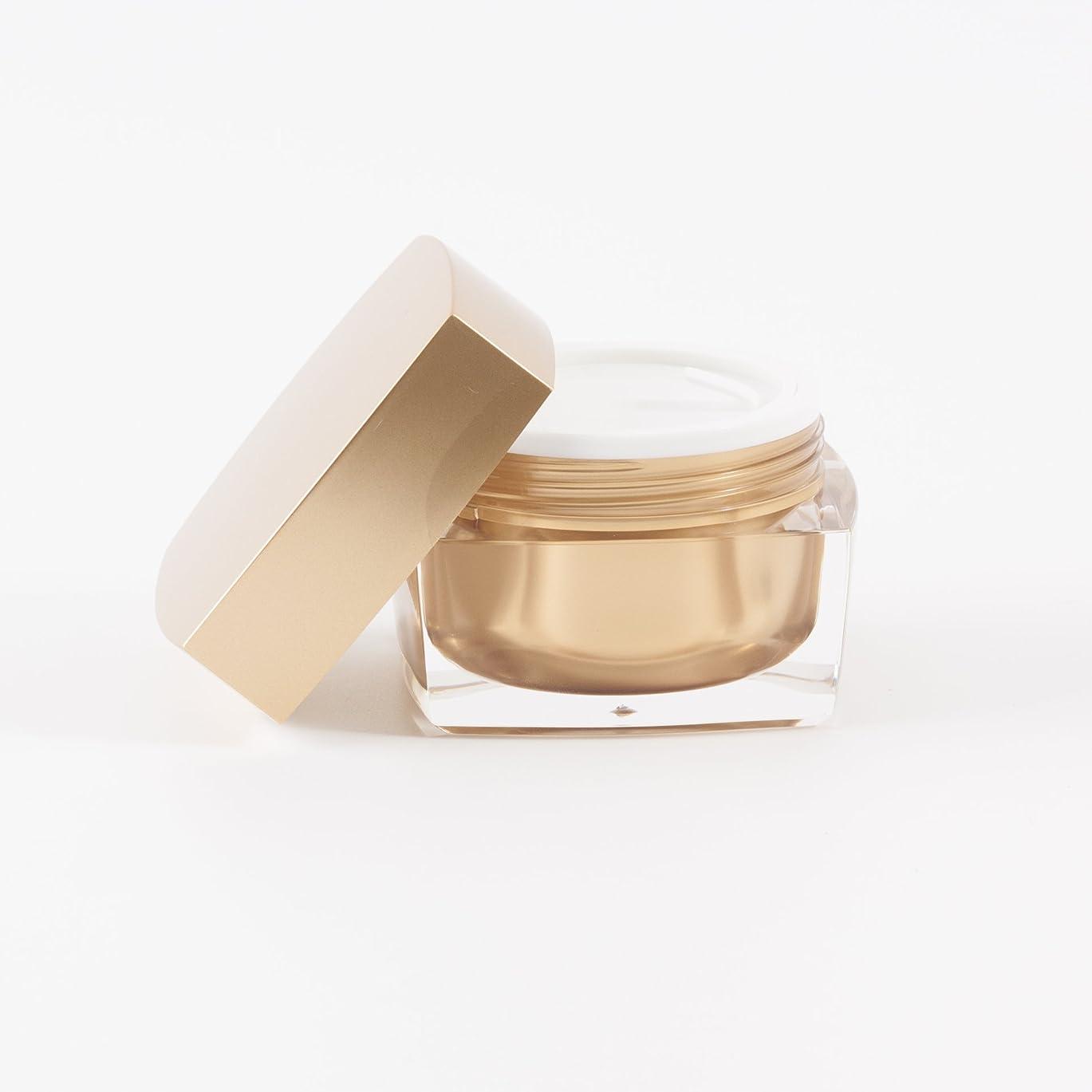 組み込む未払い数Verve Acrylic Jar Gold 50ml x 10