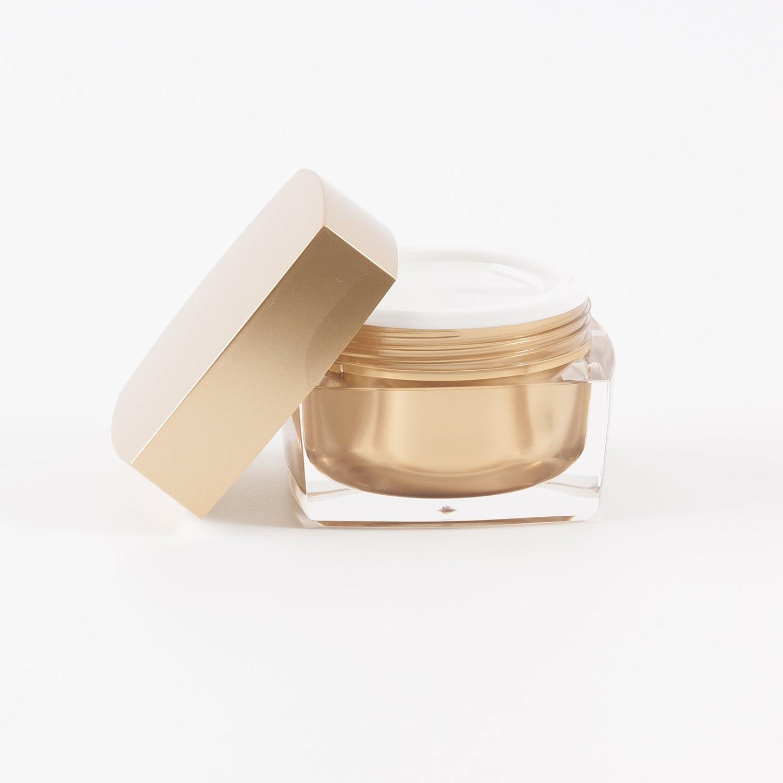 写真撮影宿泊施設出口Verve Acrylic Jar Gold 50ml x 10