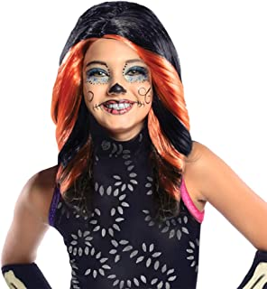 Monster High Skelita Calaveras Child Wig Costume Accessory