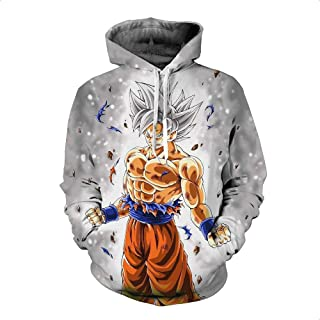 Men's hoodie Dragon Ball anime fans collaborative content creation clothes 01