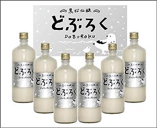 【クール便発送】黒松仙醸 どぶろく 600ml×6本入(微発泡日本酒)