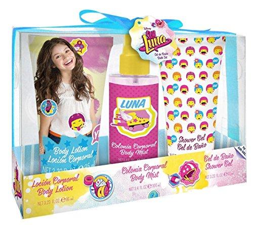Disney Soy Luna 3teiliges Beauty-Set bestehend aus Eau de Toilette (100 ml), Duschgel (95 ml) und Bodylotion (95 ml)