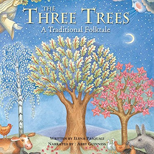The Three Trees audiobook cover art