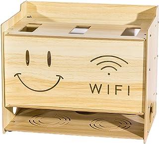 Cable De Red Multicapa Simple Caja De Almacenamiento De Enrutador Inalámbrico De Banda Ancha Caja De Almacenamiento De Enr...